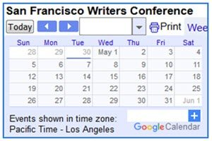 Sf Events Calendar.San Francisco Writers Conference
