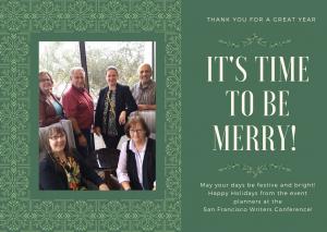SFWC Board Merry Christmas Card