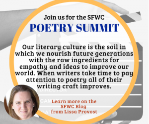 The Poetry Summit at SFWC is for Publishing (And you should be publishing your poetry!)