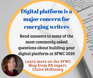 Claire McKinney Digital Platform Author Questions