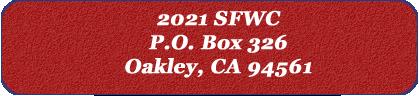 SFWC Donation