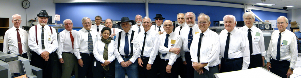 Frank King and the IBM 1401 Team at the Computer History Museum
