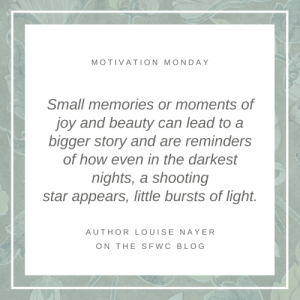 Capture Magic Moments in Your Writing - Louise Nayer