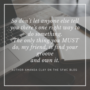 You MUST Do This: Writing Advice from Author Amanda Clay