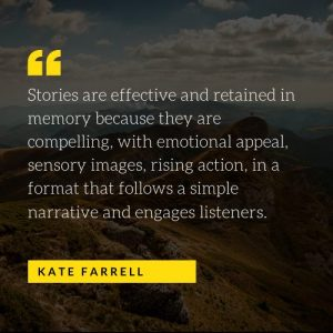 Kate Farrell Storytelling, Truth Telling in Nonfiction Writing