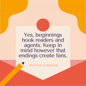Write a Book Starting at the End - Martha Alderson