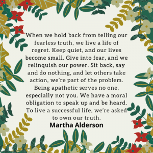 Martha Alderson Fearless Truth