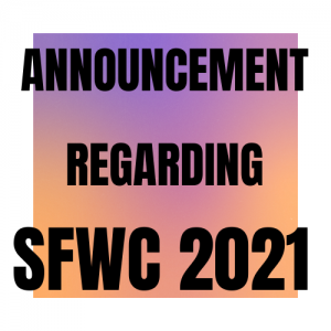 Laurie McLean SFWC 2021 announcement